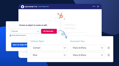 SyncSmart Adds Custom Objects HQ to the HubSpot App Marketplace