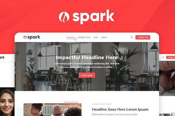 Introducing Spark - Lynton's Newest HubSpot Theme