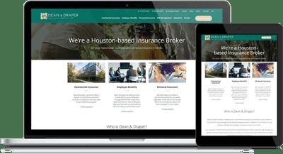 Dean & Draper's Modernized Website Redesign Maintains Domain Authority