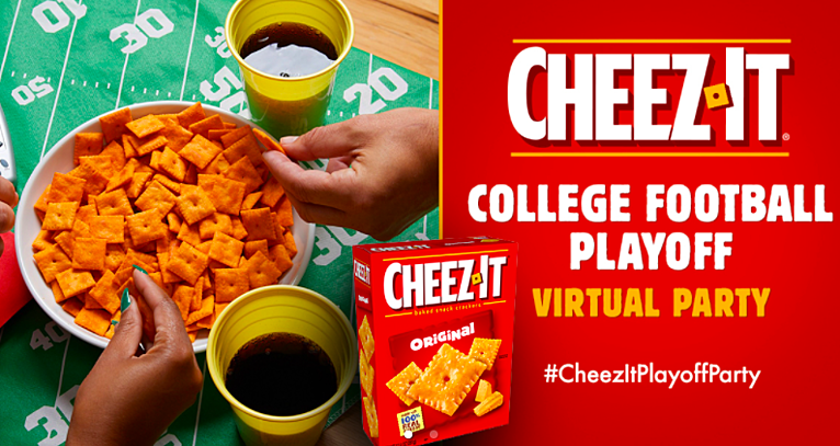 Cheez-It® Drives Trials & Excitement for College Football Playoffs