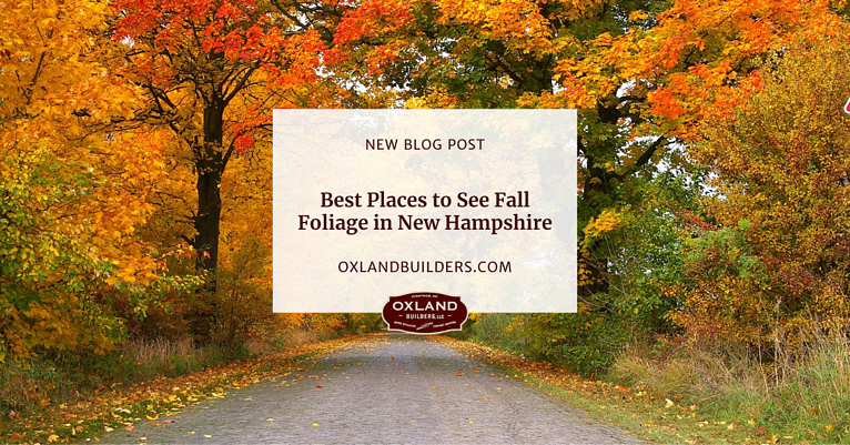 Best Places to See Fall Foliage in New Hampshire