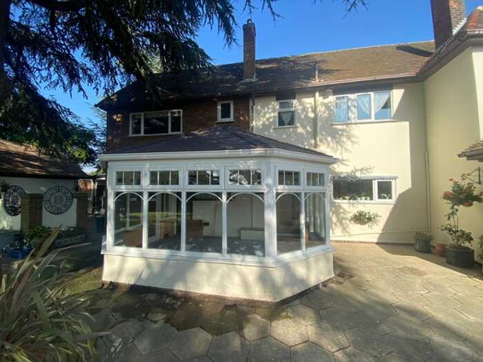 Conservatory after a Conservatoory Roof replacement in Essex