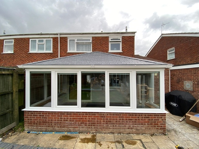 Tiled Conservatory Roof in St Ives, Cambridgeshire