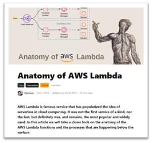 AWS lambda anatomy