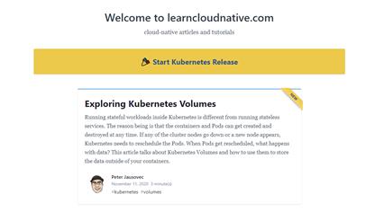 learn cloud native