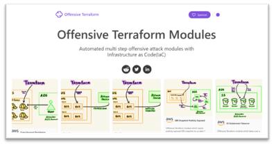 offensive terraform modules