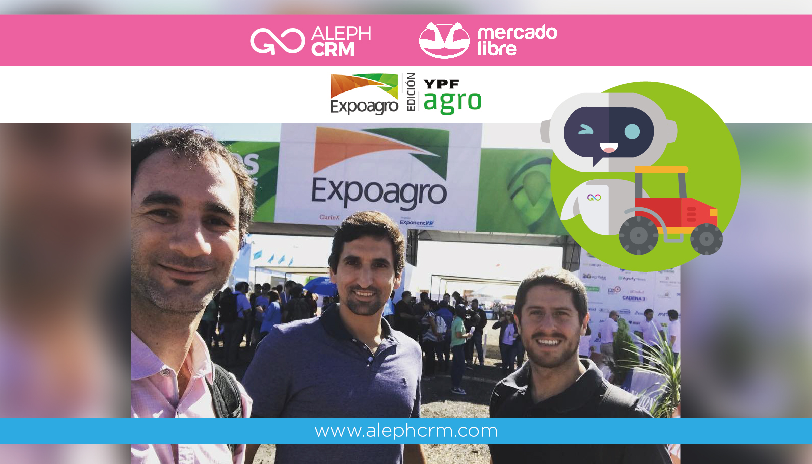 Aleph Solutions y Mercado Libre le dan la bienvenida a la industria agrícola, en la nueva era del comercio electrónico