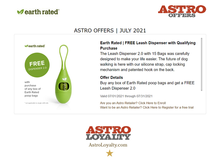 Astro Brand of the Week! | Earth Rated