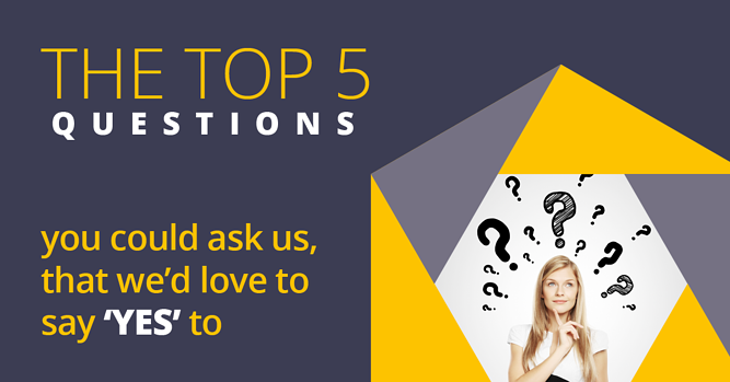 5 questions to ask your IT Helpdesk that we'd love to say 'Yes' to