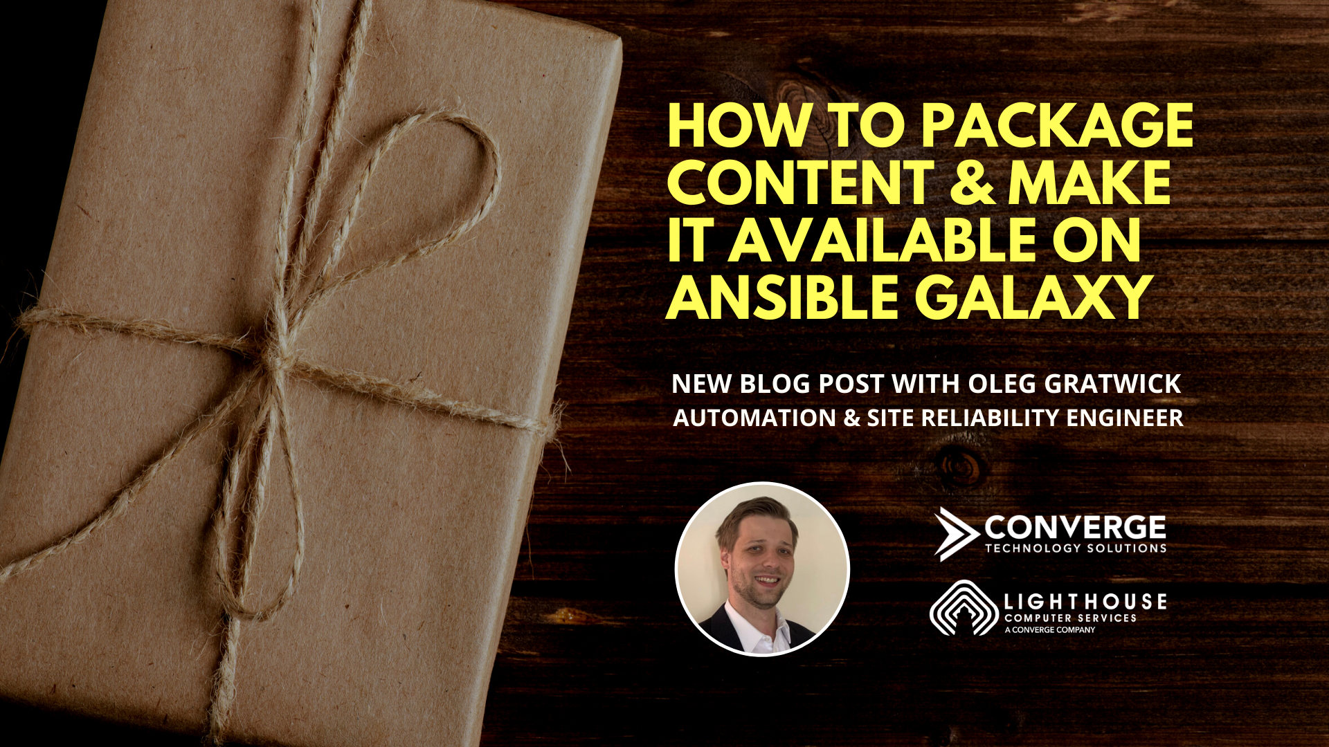 How to Package Content and Make It Available on Ansible Galaxy