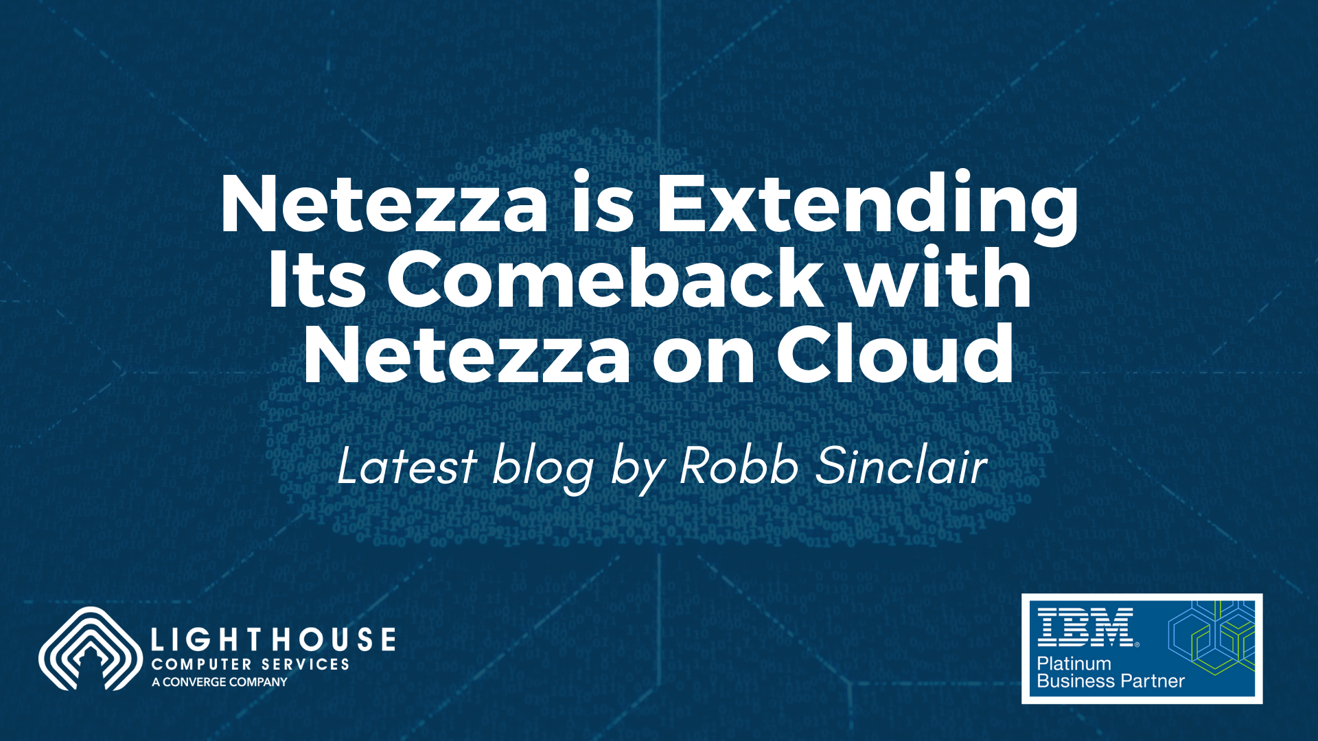 Netezza is Extending Its Comeback with Netezza on Cloud
