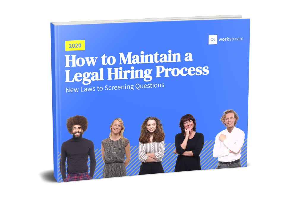 Workstream EEOC Ultimate Guide eBook 2020 on Maintaining a Legal Hiring Process