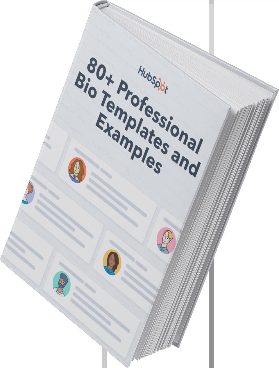 80+ Professional Bio Templates & Examples