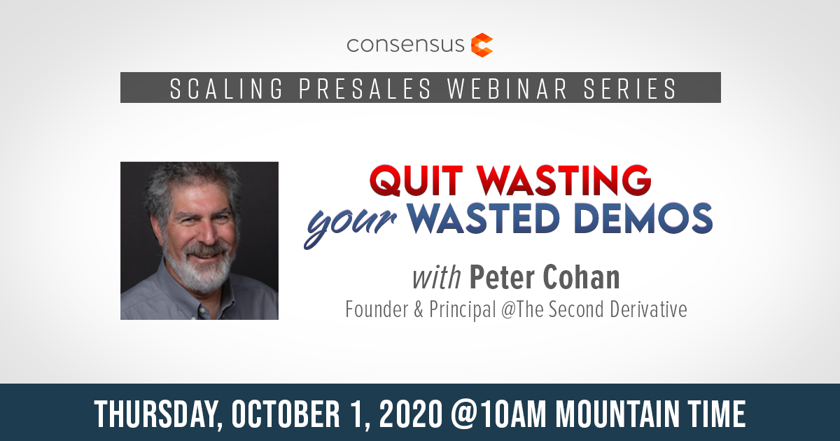 Webinar - Quit Wasting Your Wasted Demos