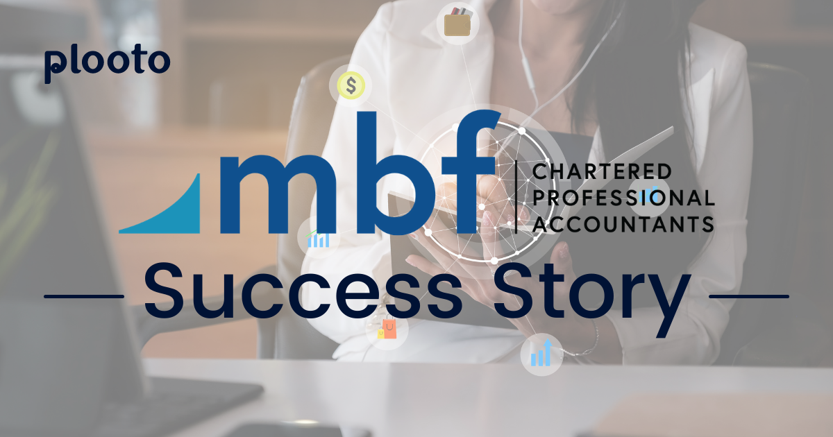 mbf Chartered Professional Accountants saves 8 hours a week with Plooto