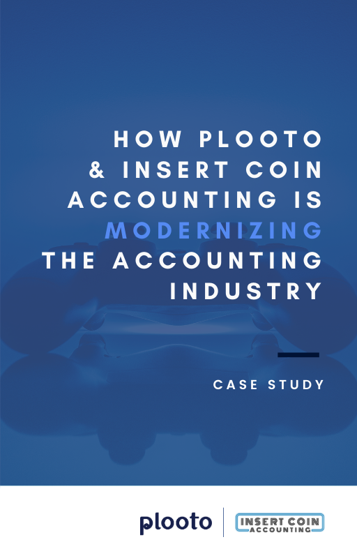 Plooto and Insert Coin Accounting