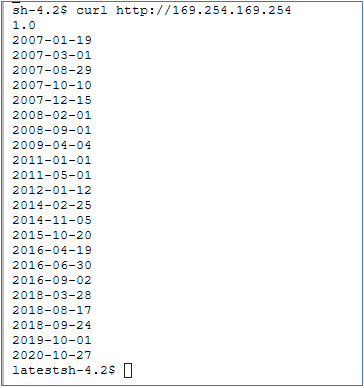 SageMaker notebook instance