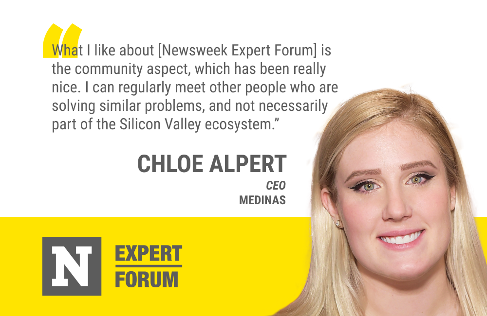 Newsweek Expert Forum's Diverse Members Give Chloe Alpert New Perspectives