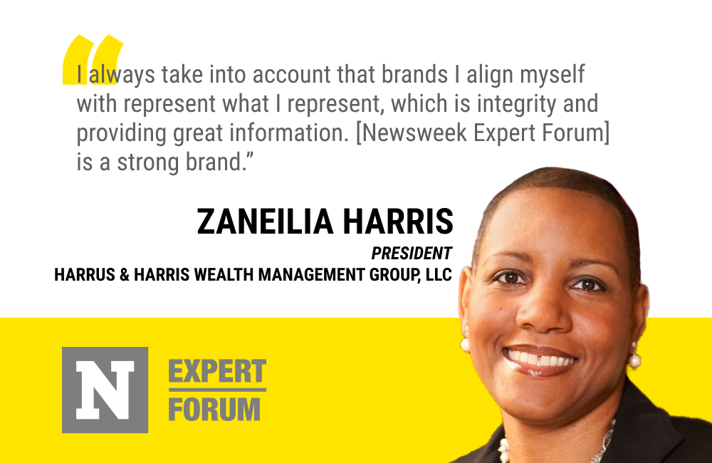 Zaneilia Harris Says Newsweek Expert Forum Aligns With Her Brand Values, Offering Integrity and Valuable Information